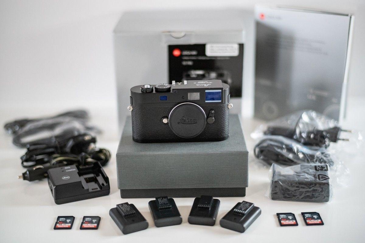 LIKE NEW - Leica M9 Black - New sensor - upgrade to MP - 4569 activities.