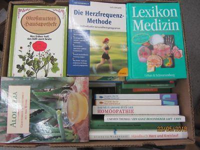 46 Bücher Gesundheit Medizin Selbstheilung Naturmedizin Naturheilkunde