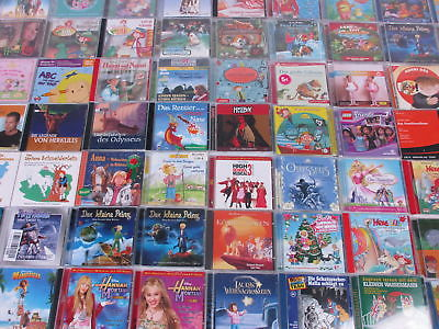 CDs Hörbücher/Hörspiele für Kinder Geschichten Musik 128 Stück