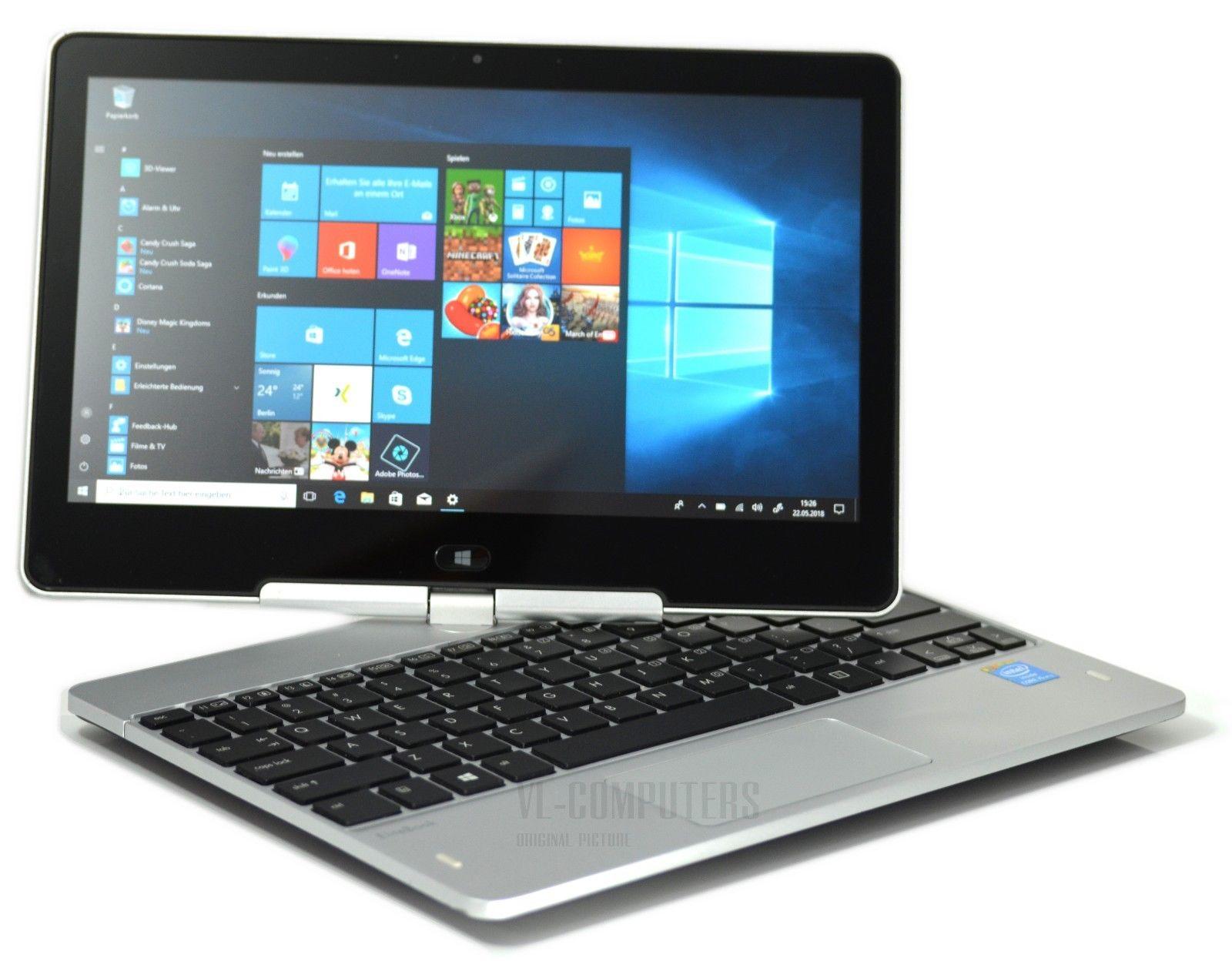 HP EliteBook Revolve 810 G2 i5-4300U 8GB RAM 256GB SSD 11,6