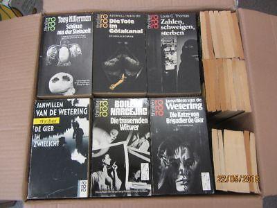 121 Bücher rororo thriller Krimi Kriminalromane Thriller Psychothriller