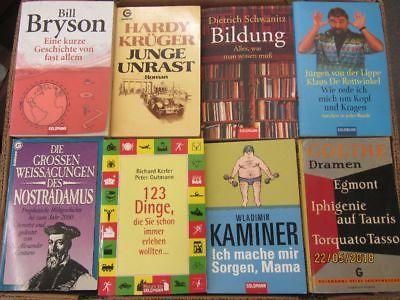 98 Bücher Taschenbücher Goldmann Verlag