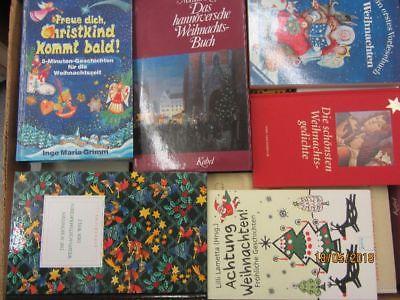 60 Bücher Weihnachten Advent Christfest weihnachtliche Bücher Weihnachtsbasteln