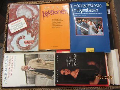 71 Bücher Softcover Romane Sachbücher Erzählungen u.a. Paket 1