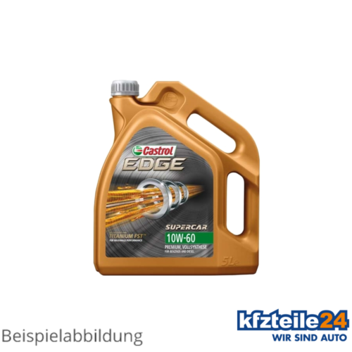 Castrol | Motorenöl 10W-60 Edge Supercar (5 L) (1595CE)