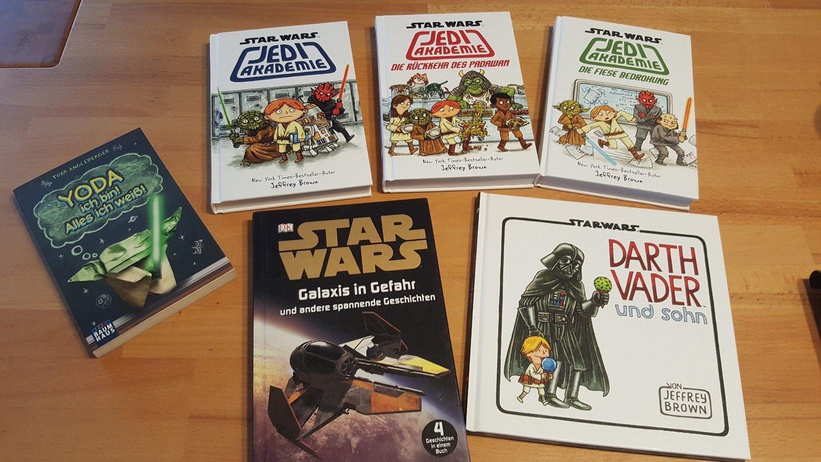Star Wars Darth Vader Yoda Bücher verschiedene Titel für Jungen