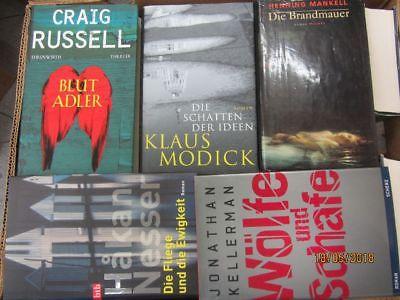 33 Bücher Romane Krimi Thriller Psychothriller  Top Titel Bestseller