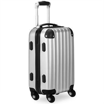 Hartschalenkoffer Koffer XL Trolley 4 Rollen Reisekoffer Gepäck Schloss ABS