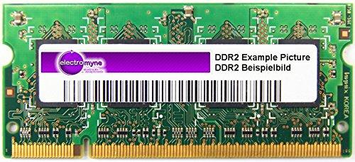 1GB Micron DDR2-667 RAM PC2-5300S CL5 2Rx16 SO-DIMM (Zertifiziert und Generalüberholt)