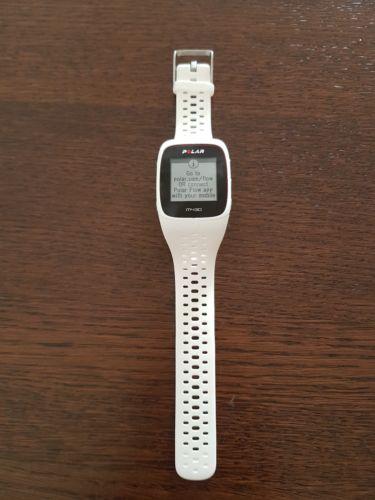 Polar M430 GPS Laufuhr | Activitytracker | HF Messung am Handgelenk | weiss