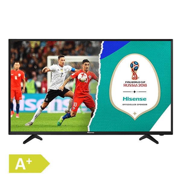 Hisense H43NEC2000S 43 Zoll 108cm Full HD LED Fernseher schwarz EEK A+ DVB-T2