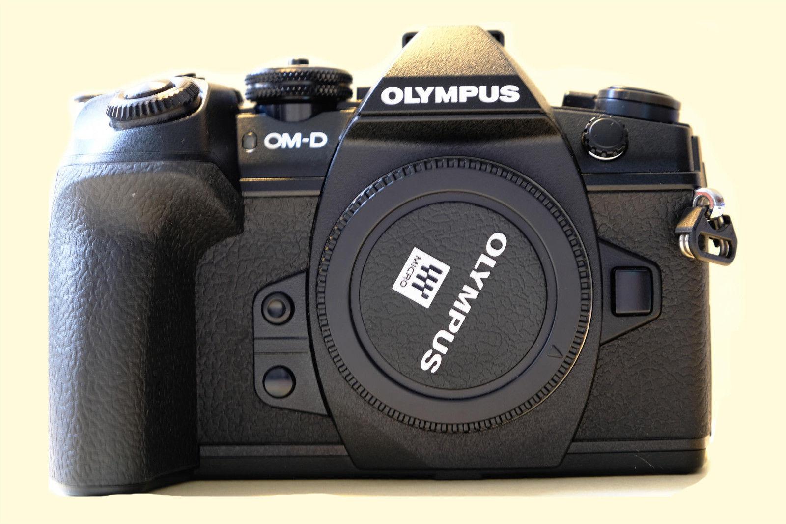 Olympus OM-D E-M1 Mark II 20.0 MP - schwarz (nur Gehäuse)