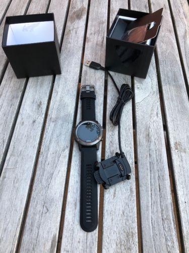 Garmin Fenix 3 HR Saphir Grau GPS-Uhr Pulsmesser Multifunktionsuhr NEU