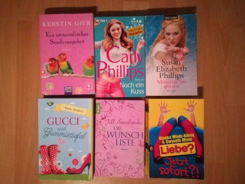 Bücherpaket Frauen Romane z. B. Carly Phillips, Kerstin Hier etc.