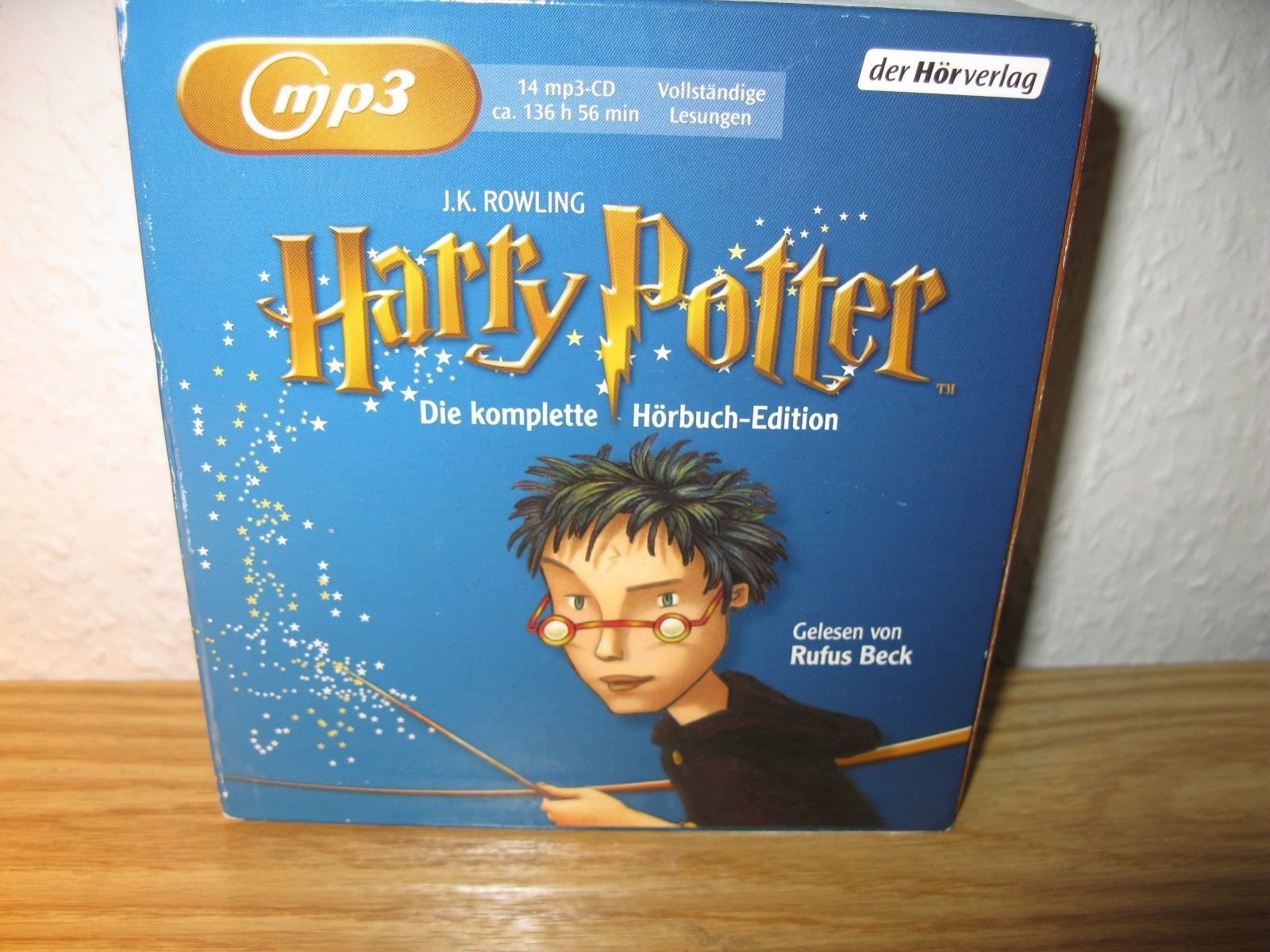 Harry Potter mp3, die komplette Hörbuch Edition 14 mp3 Audio-CDs fast 137 Std.