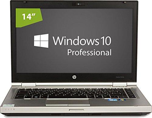 HP Elitebook 8460p Notebook / Laptop | 14 Zoll Display | Intel Core i5-2450M @ 2,5 GHz | 4GB DDR3 RAM | 320GB HDD | DVD-Brenner | Windows 10 Home vorinstalliert (Zertifiziert und Generalüberholt)