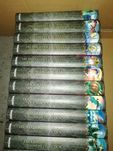 Bücherpaket Fantasy 17 Stück teilw neu
