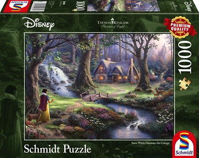 1000 Teile Schmidt Spiele Puzzle Thomas Kinkade Disney Schneewittchen 59485