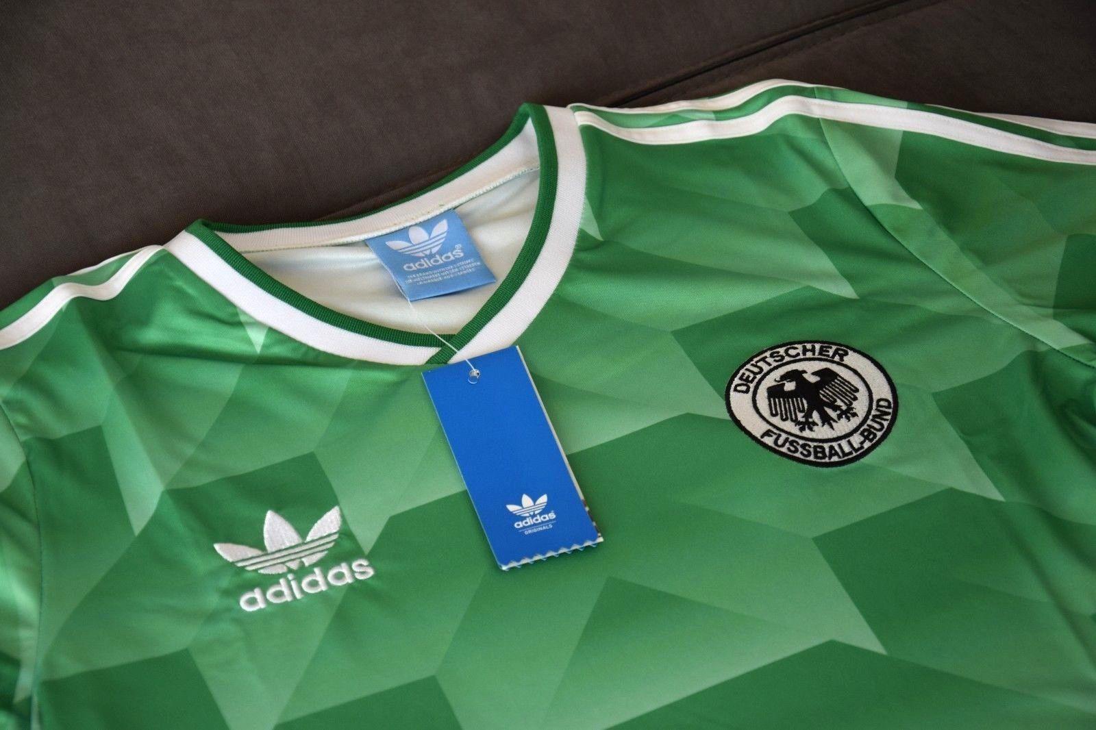 DFB Deutschland Retro Trikot WM 1988 1990 Größe M NEU AWAY AUSWÄRTS
