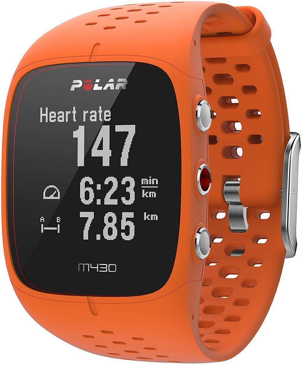 Polar M430 Orange GPS Sportuhr mit Pulsmessung am Handgelenk HR Pulsuhr NEU OVP