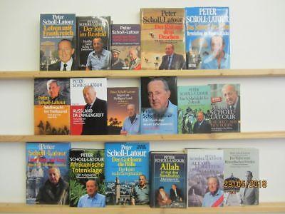 Peter Scholl Latour 17 Bücher Sachbücher Naher Osten Ferner Osten Politik