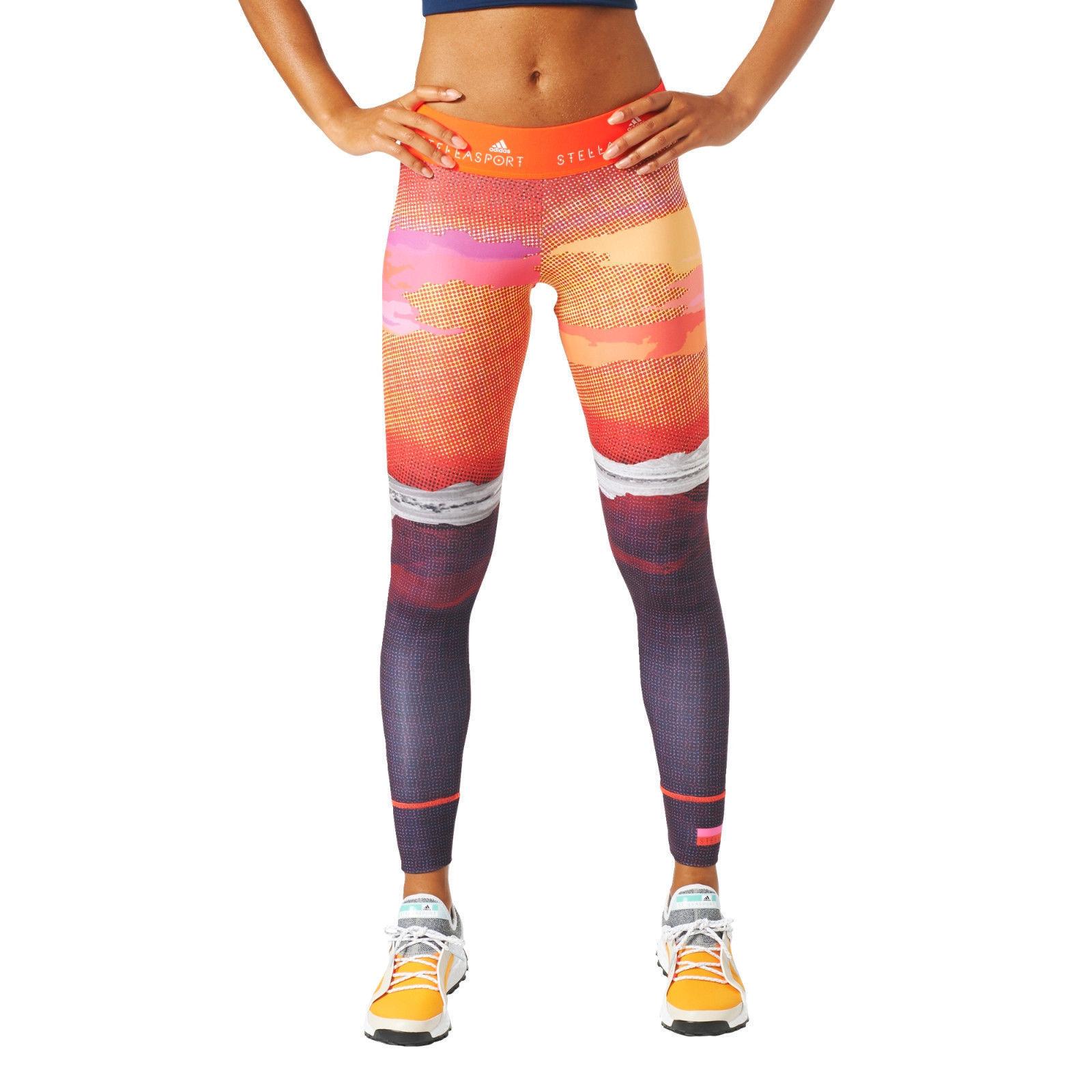 adidas Stellasport Womens Nature Gym Training Stella McCartney Sports Leggings