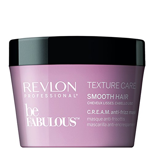 Revlon Professional 8432225088518 Be fabulous Texture Care SMOOTH Hair C.R.E.A.M. Anti-Frizz Mask