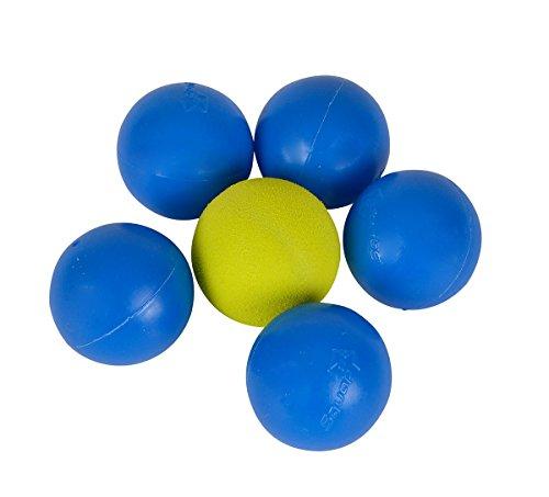 Simba 107204067 - Squap Ersatzbälle, 6 Stück, blau