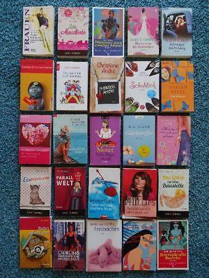 Paket 25 freche Frauen Bücher Romane: Gier Phillips Sanders Moser Crusie Kürthy
