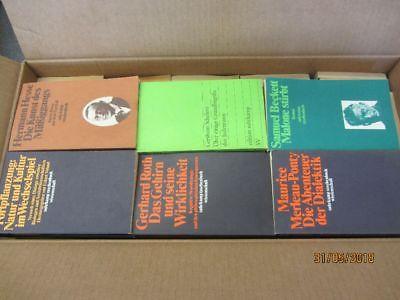 100 Bücher Taschenbücher suhrkamp Verlag