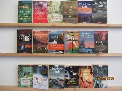Charlotte Link 18 Bücher Romane Krimi Kriminalromane Thriller Psychothriller