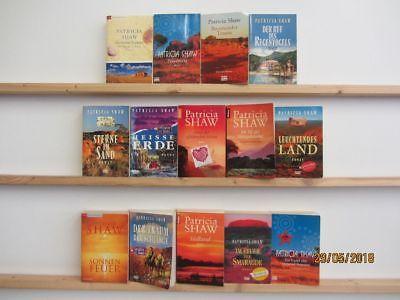 Patricia Shaw 14 Bücher Romane historische Romane romantische Romane