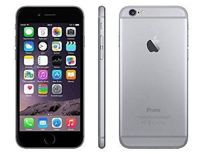 Apple iPhone 6 (A1586) Space Grau 64GB LTE WLAN Bluetooth iOS 9