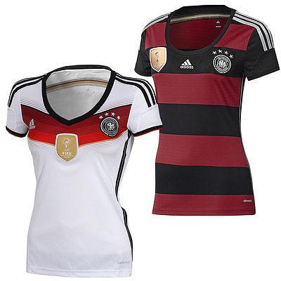 adidas Damen DFB Trikot Deutschland Home Away 4 Sterne FIFA Fußball Weltmeister