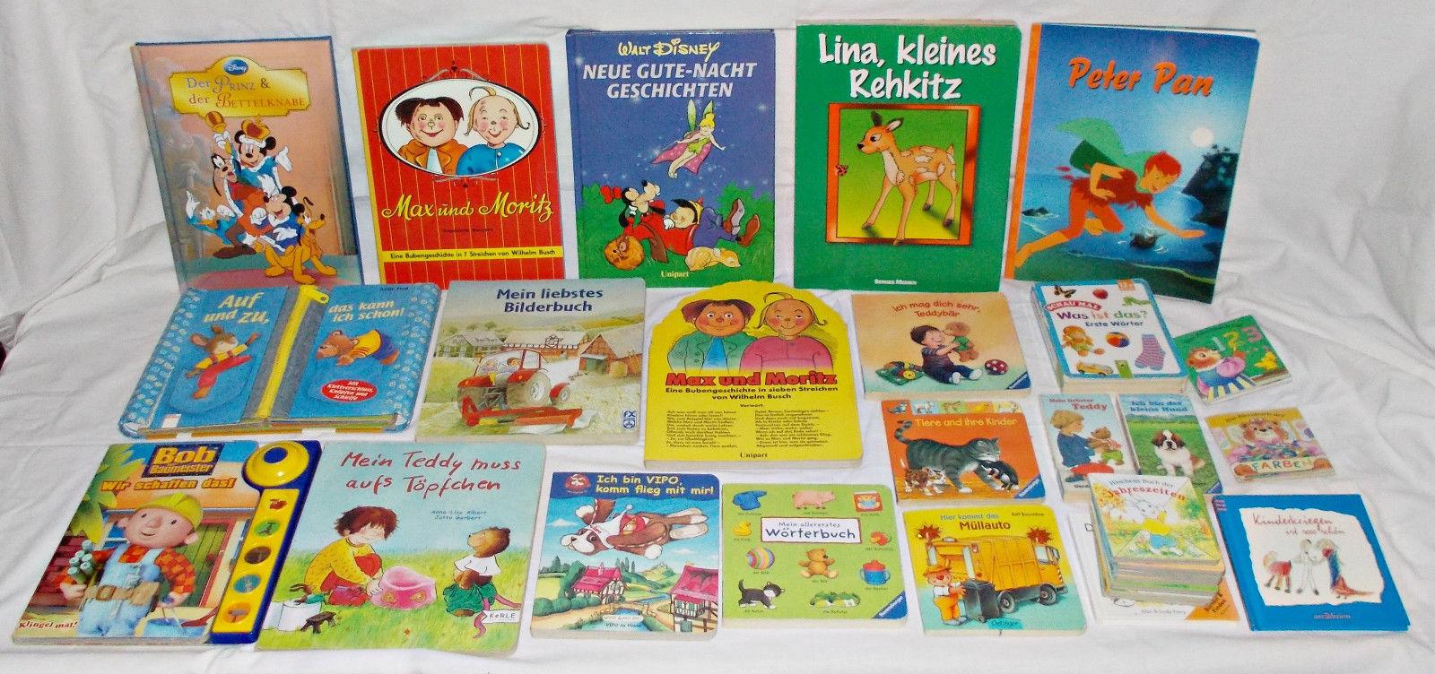 31 Bücher Paket Kleinkind Kinderbücher Bilderbücher alles dicke Seiten ab 12 Mo
