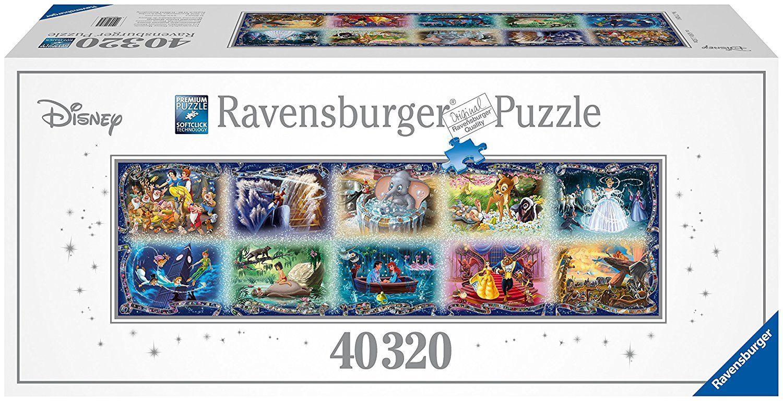 Unvergessene Disney Momente 32000/40000 Teile Puzzle (40320 Teile) Ravensburger