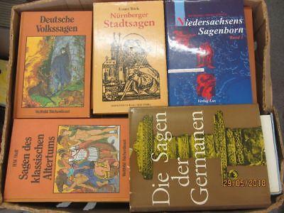 34 Bücher Sagen Heldensagen Göttersagen römische Sagen regionale Sagen