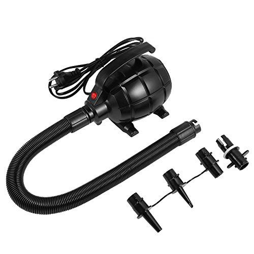 Meditool Elektropumpe power Pump mit 3 Luftdüse für aufblasbare Matratze, Kissen, Bett, Boot, Schwimmring, AC220V – 240V
