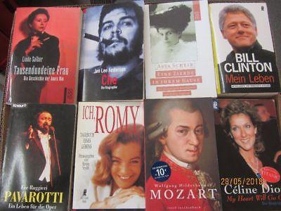 75 Bücher Biografie Biographie Lebenserinnerungen Autobiografie Lebensgeschichte
