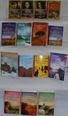 Weltbild Bücherpaket Bücher Sammlung 15x Frauen Romane Valenti Peterson Lark u.a