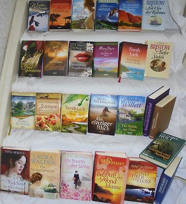top Bücher Sammlung 26x Weltbild Hardcocer Romane Bestseller Bücherpaket Frauen