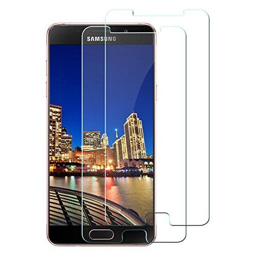 [2 Stück] Tamaku Panzerglas Schutzfolie für Samsung Galaxy A5 2016,9H Gehärtetem Glas Schutzfolie Displayschutzfolie Panzerglas,Anti-Kratzen, Anti-Öl, Anti-Bläschen-Transparente