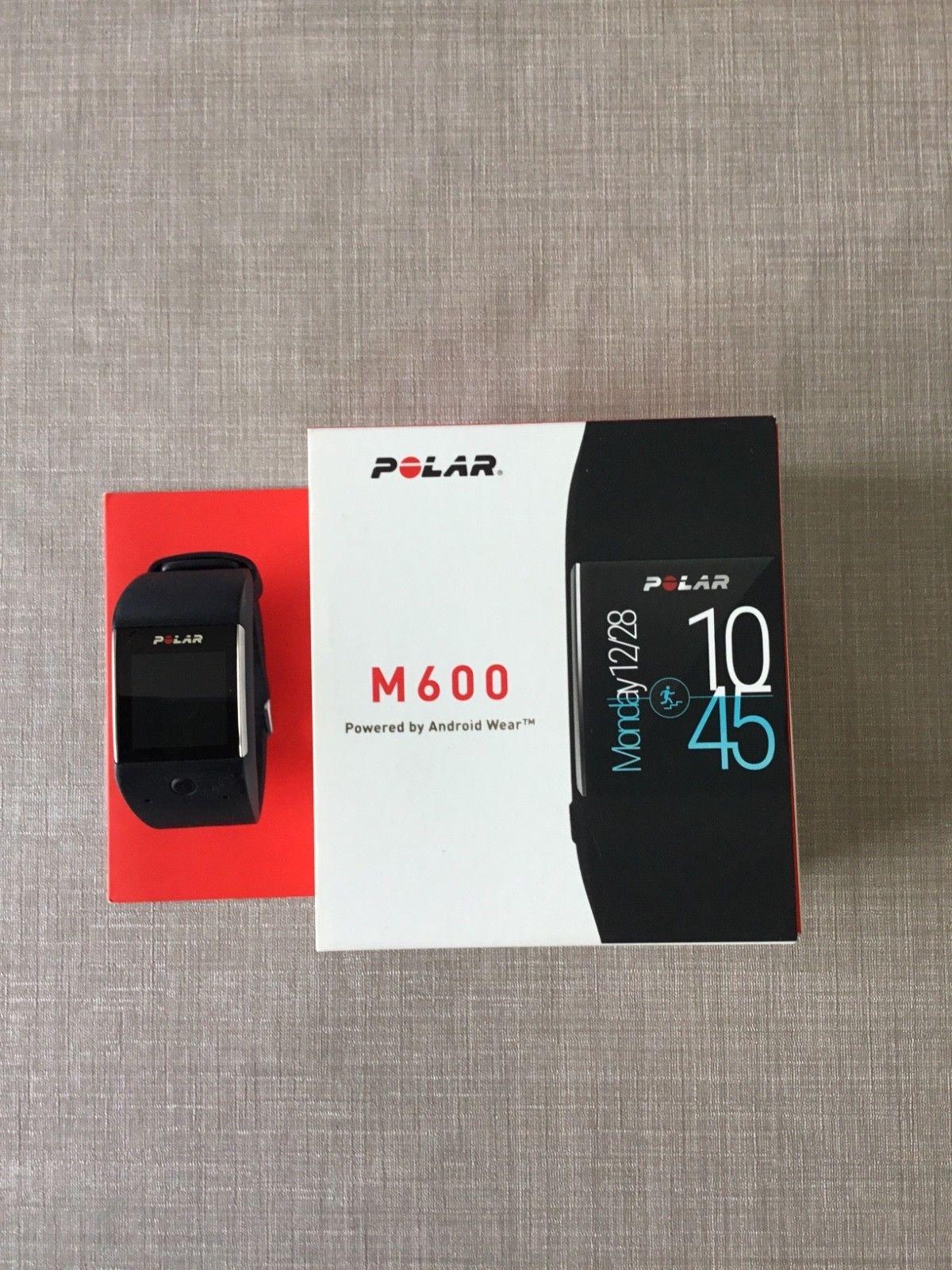 Polar m600 Fitnessuhr mir GPS - absolut neuwertig -