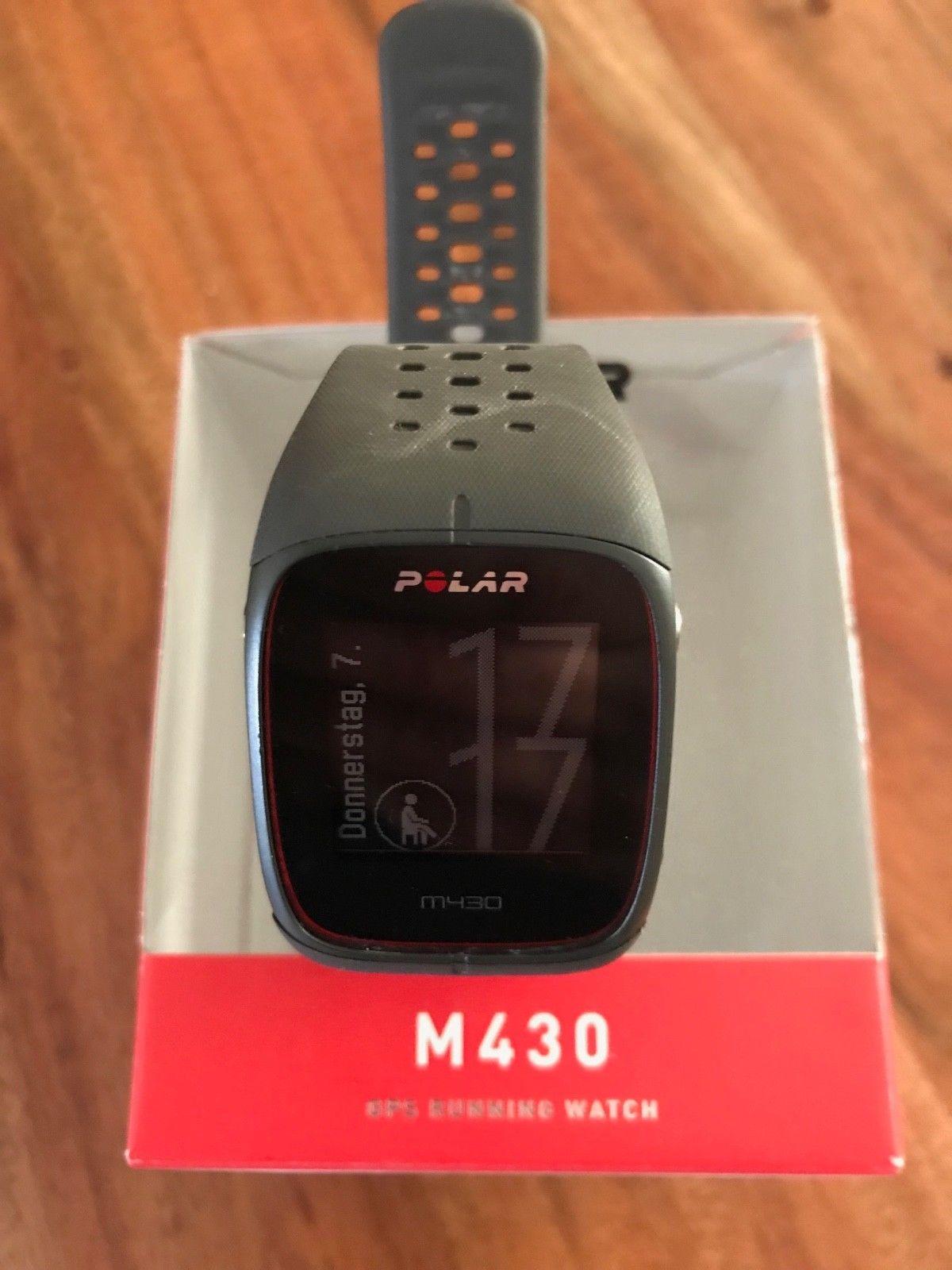 Polar M 430 GPS Running Watch black ***gebraucht***