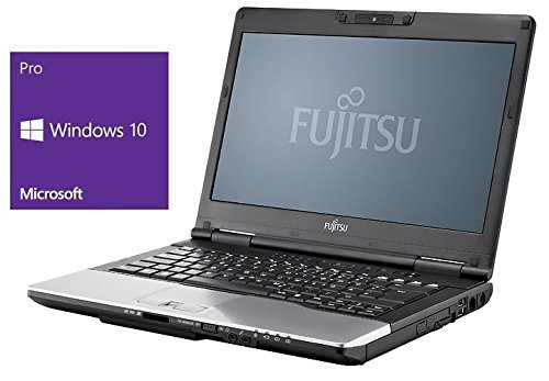 Fujitsu Lifebook S752 Notebook | 14 Zoll Display | Intel Core i5-3320M @ 2,6 GHz | 4GB DDR3 RAM | 320GB HDD | DVD-Brenner | Windows 10 Pro vorinstalliert (Zertifiziert und Generalüberholt)