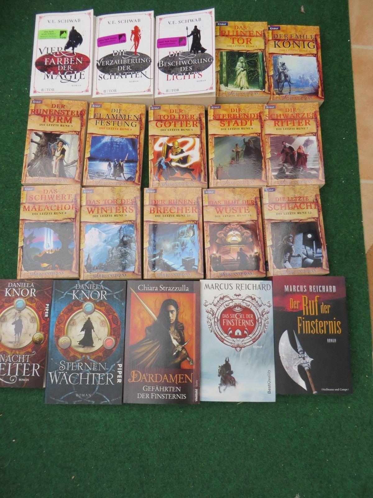 Bücherpaket Fantasy - 20 Stück