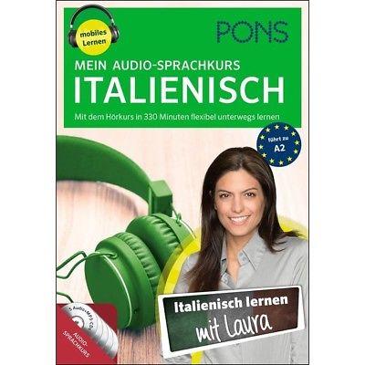 ITALIENISCH lernen ohne Buch - Anfänger-Sprachkurs mit 5 Audio-CDs + Begleitheft