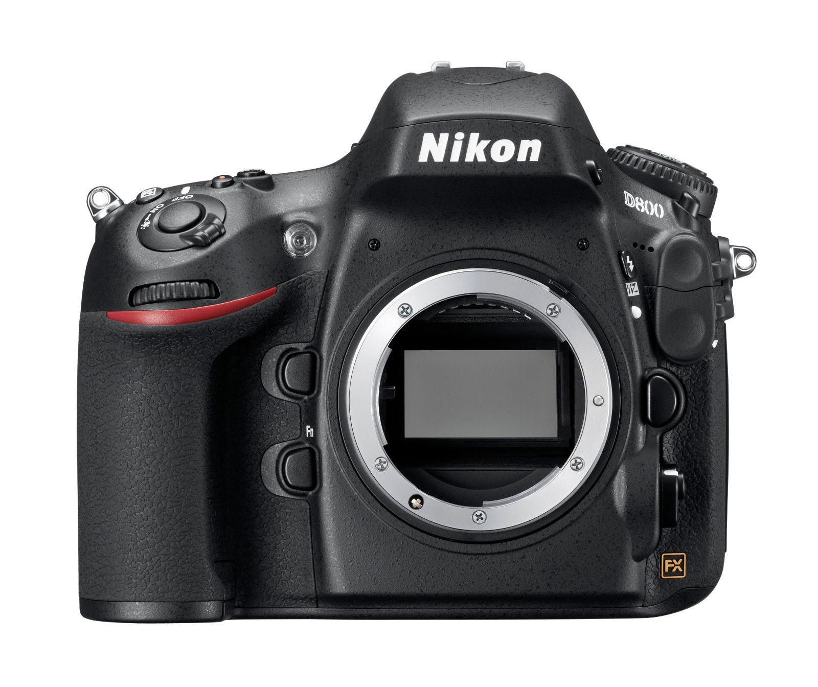 Spiegelreflexkamera Nikon D800 (36.3 MP) DSLR, GEHÄUSE, GEBRAUCHTWARE