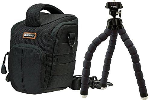 Foto Tasche Naneu C5 Kamera Set mit Reise Stativ Rollei MONKEY