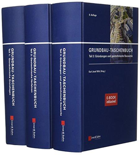 Grundbau-Taschenbuch: Teile 1-3: (inkl. E-Book als PDF)